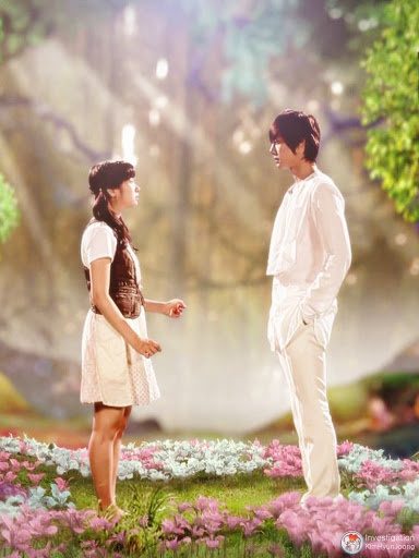 Han-ni dreaming of seung-jo in Playful Kiss