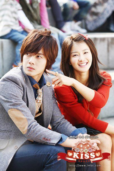 Seung-jo and Hae-ra in Playful Kiss