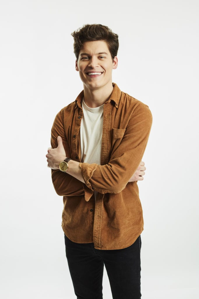 Ryan's cast photo from Listen To Your Heart