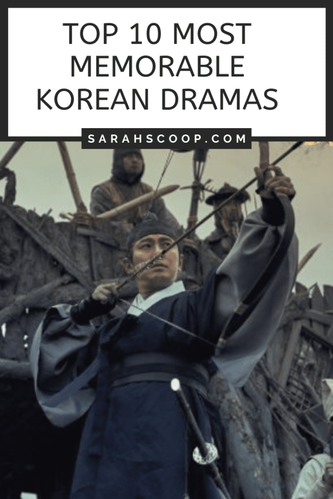 Pinterest image Top 10 Most Memorable Korean Dramas