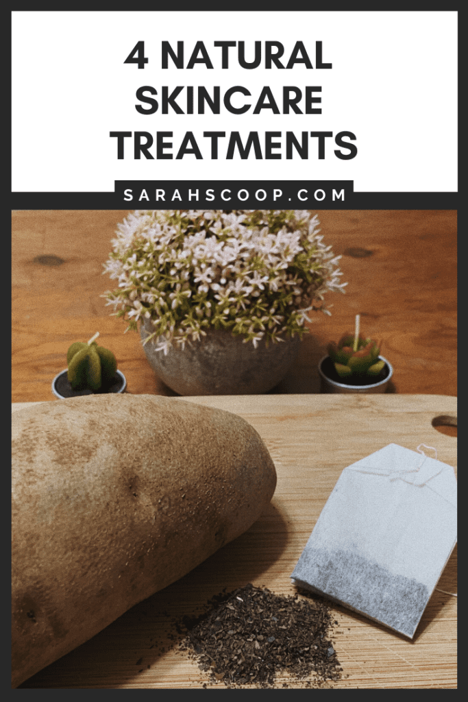 Pinterest image 4 Natural Skincare Treatments