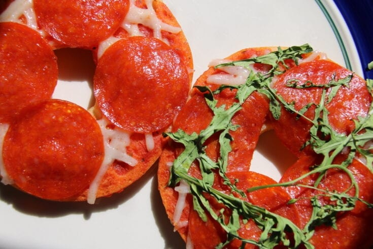 Gluten and Dairy Free Pizza Bagels