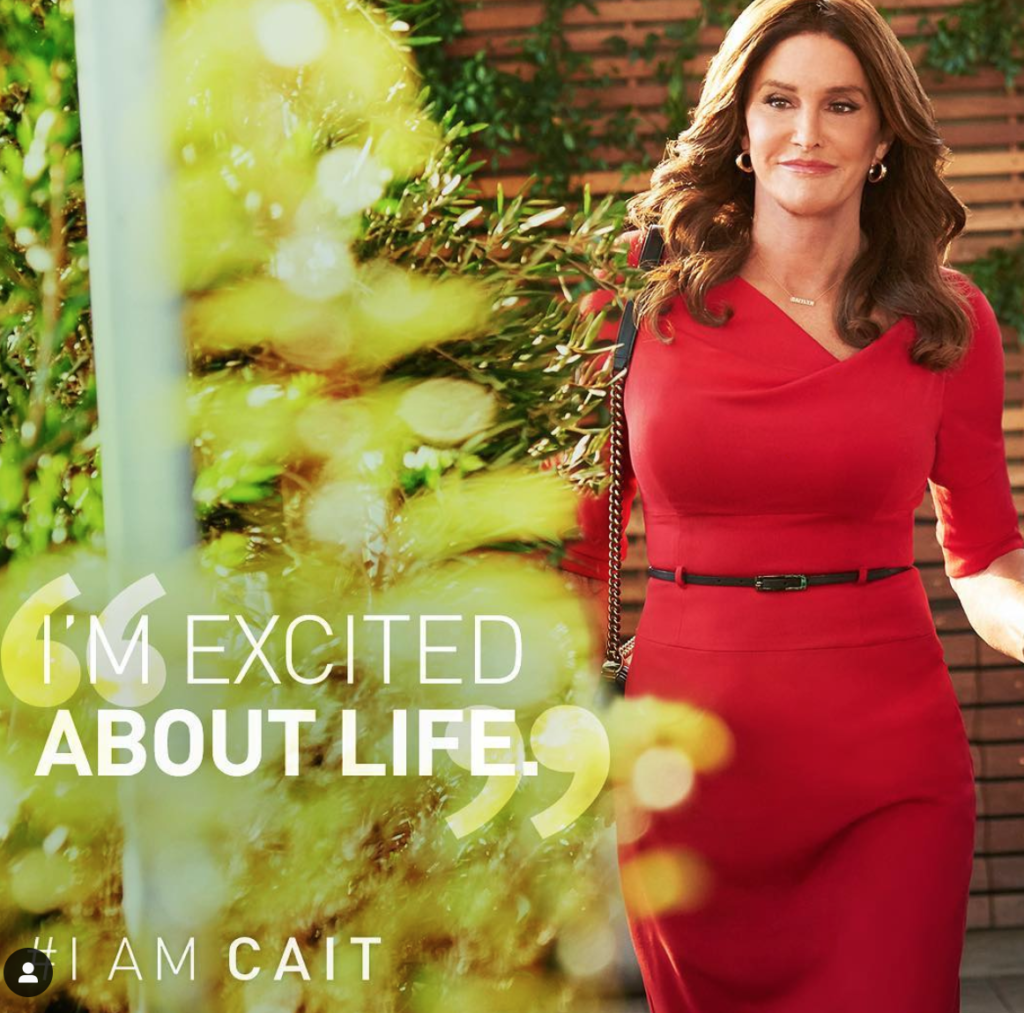 Ad for I am Cait