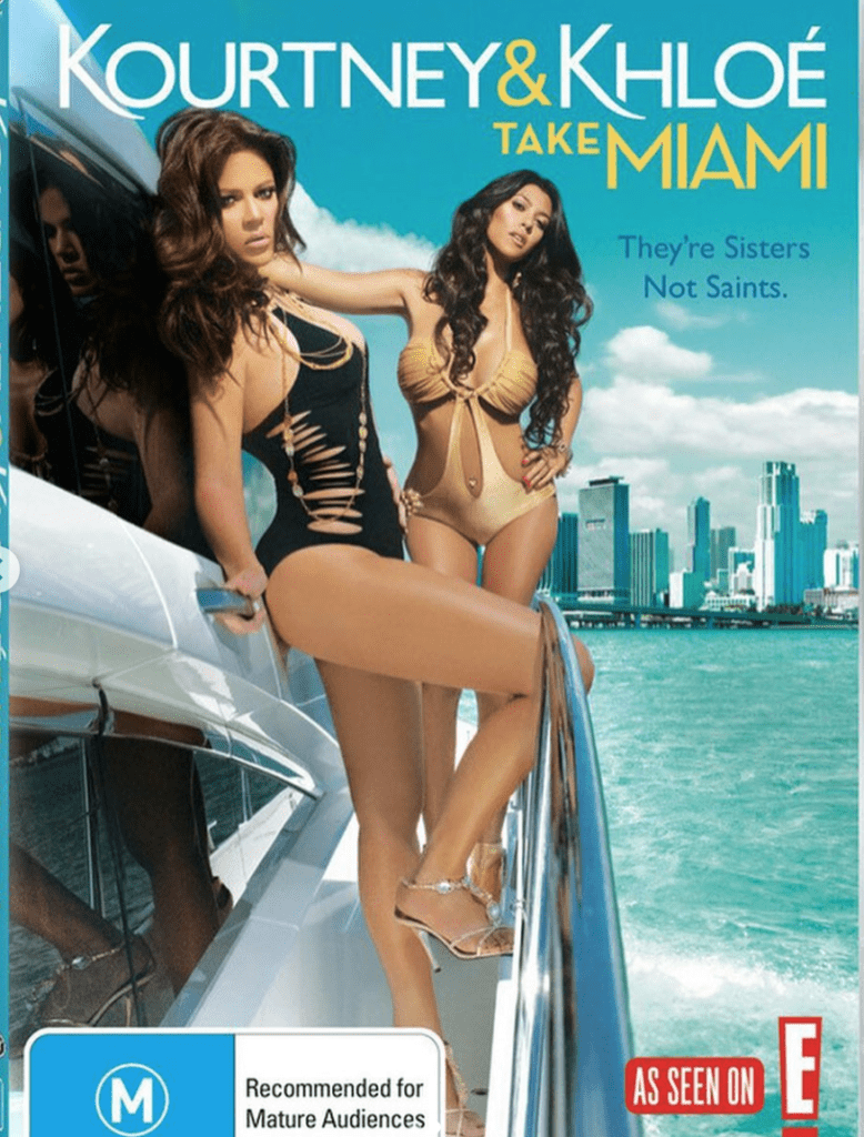 Ad for Kourtney and Khloé Take Miami