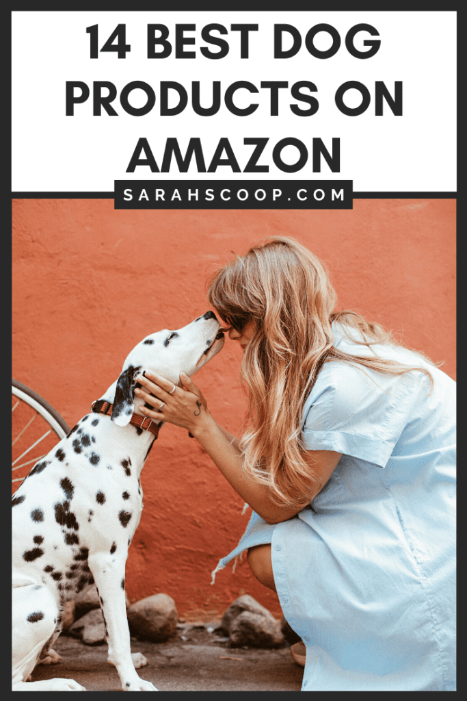 Pinterest image: 14 Best Dog Products on Amazon