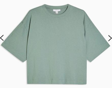 "Alt=""Topshop Boxy T-shirt"""