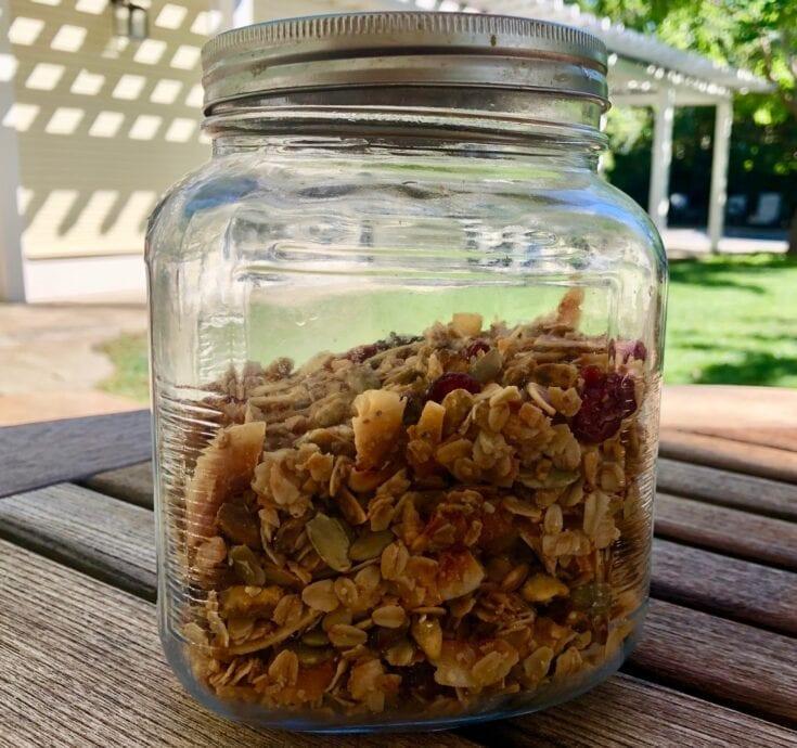 Healthy and Delicious Homemade Granola