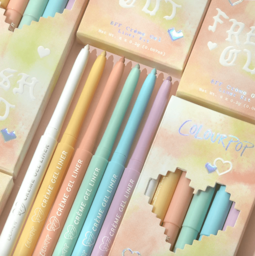 Colourpop Pastel Tie Dye Collection