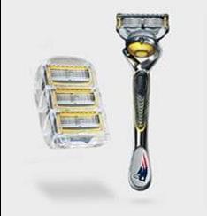 NFL Gillette razors