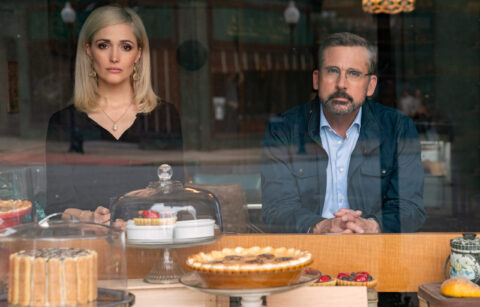 4142_D014_00038-00042_RCC  Rose Byrne stars as Faith Brewster and Steve Carell as Gary Zimmer in IRRESISTIBLE, a Focus Features release.    Credit: Daniel McFadden / Focus Features