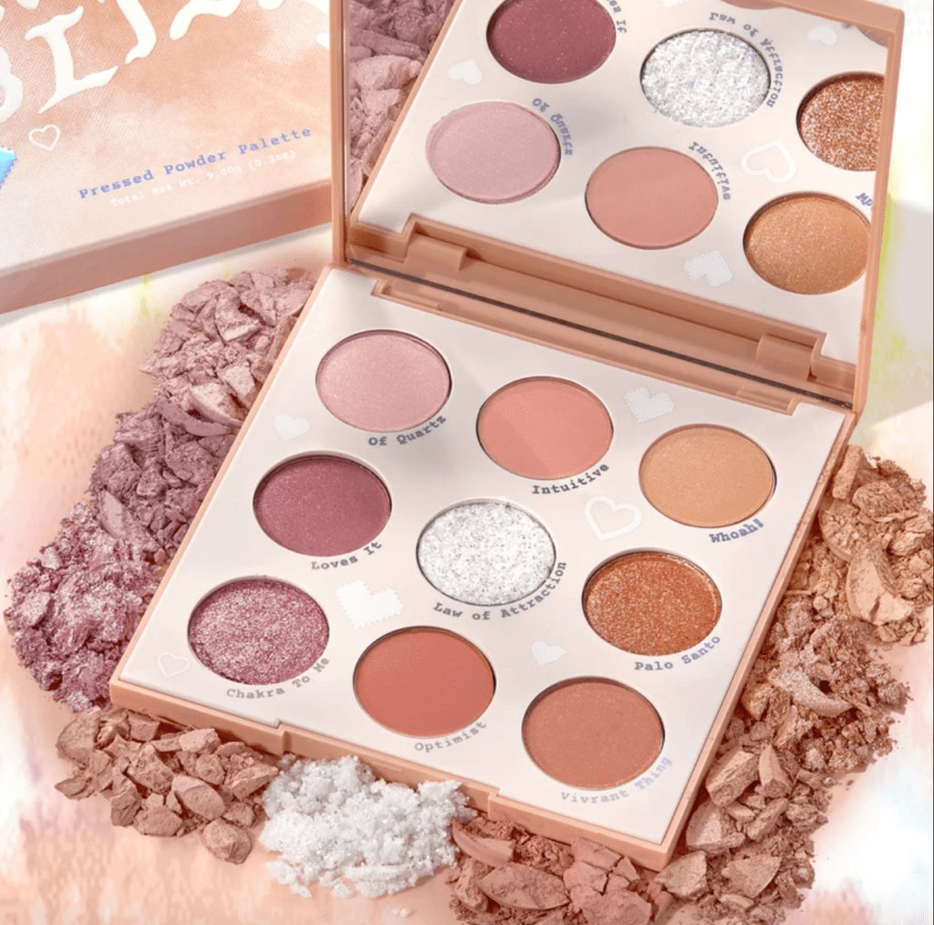 Colourpop Pastel Tie-dye Collection