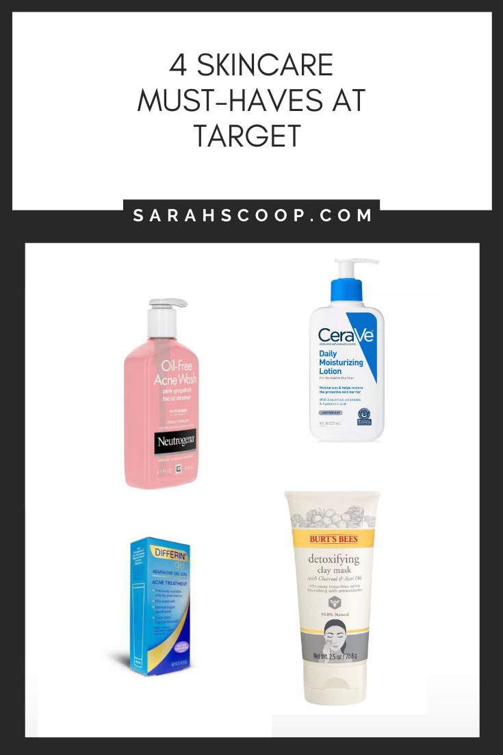 4 Skincare Must Haves At Target Sarah Scoop