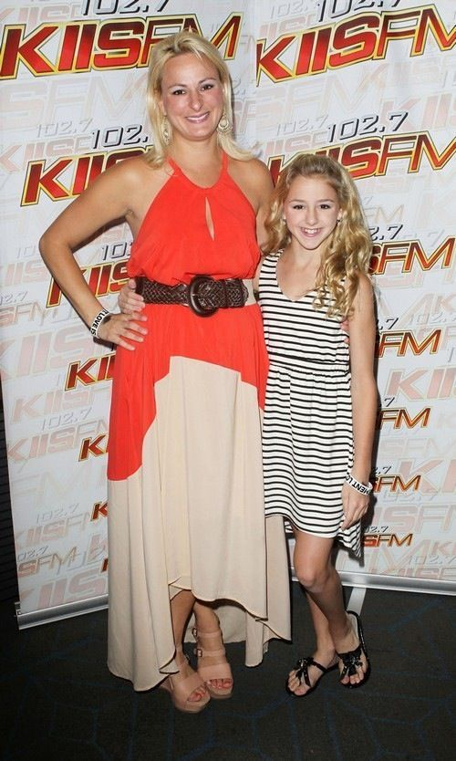 Christi and Chloe from Dance Moms