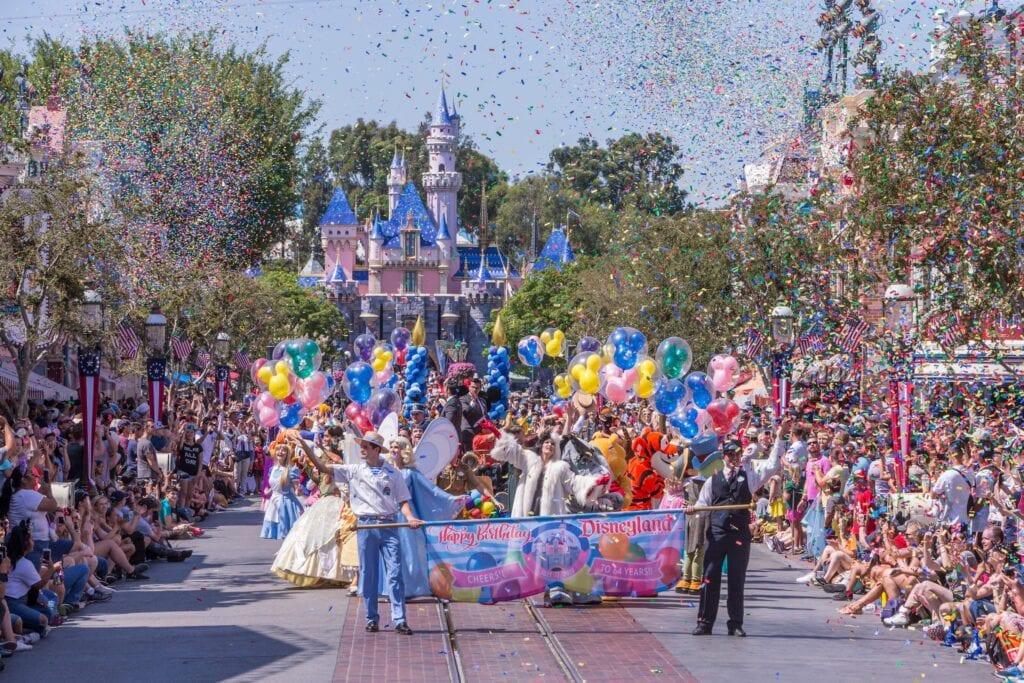 Disney Resort's 64th Birthday Celebration