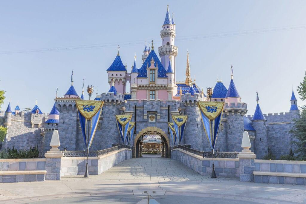 Disneyland Castle Attraction