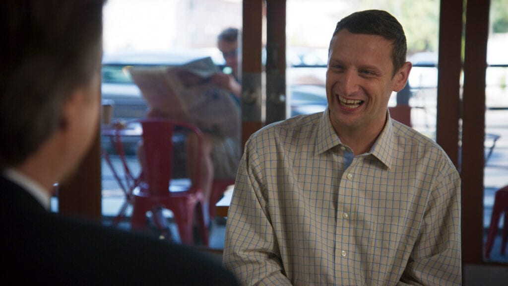 """Tim Robinson in his comedy sketch show, """"I Think You Should Leave"""""""