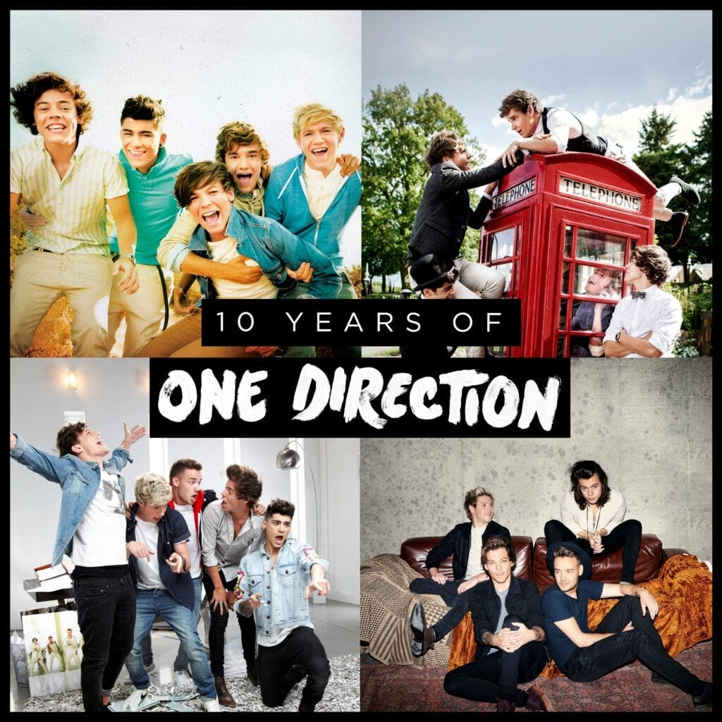 One Direction, Ten Year Anniversary