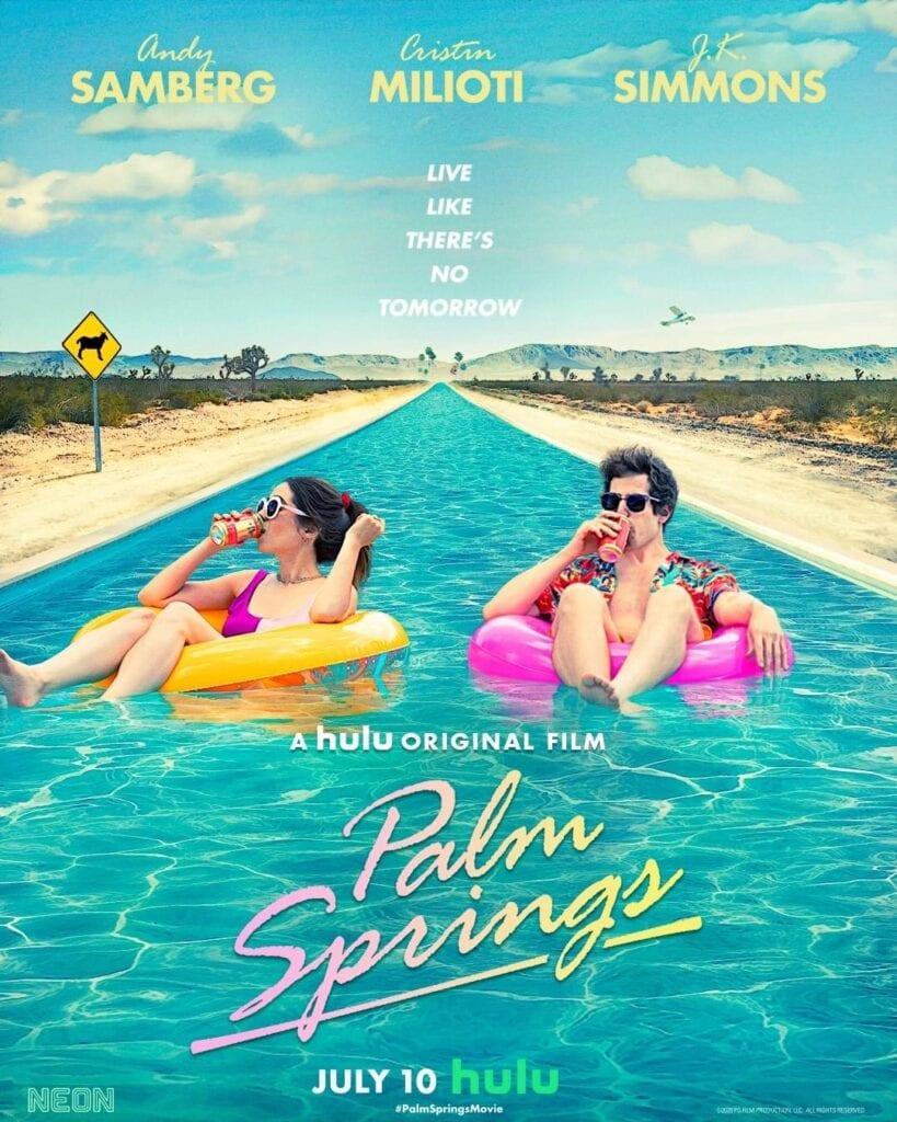 """Hulu Original """"Palm Springs"""" poser"""