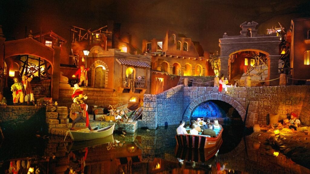 Disney attraction Pirates of the Caribbean