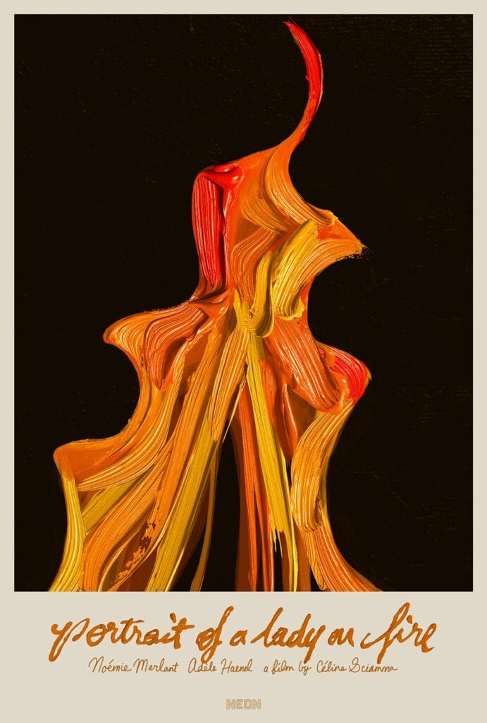 Portrait of a Lady on Fire Additional Poster, Twitter