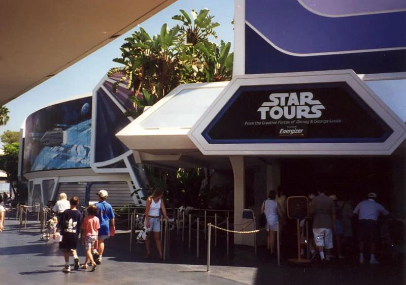Disneyland attraction Star Tours