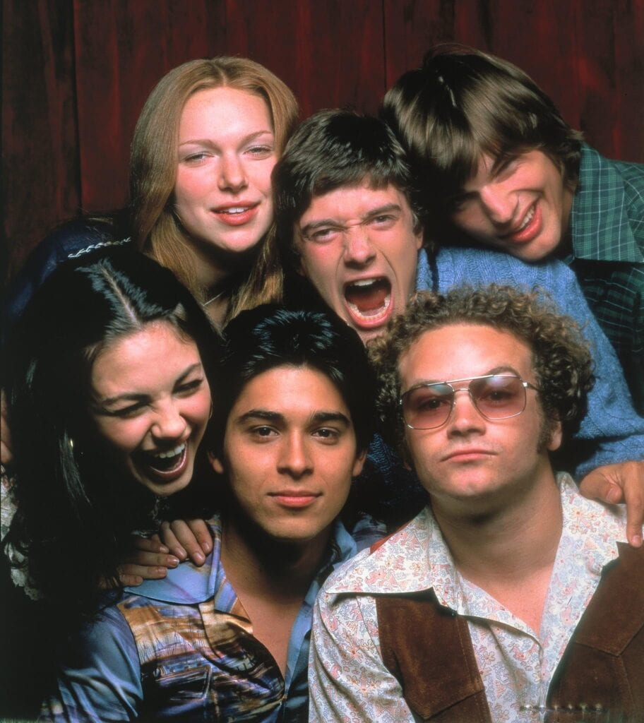 "The ""That 70's Show"" friends"