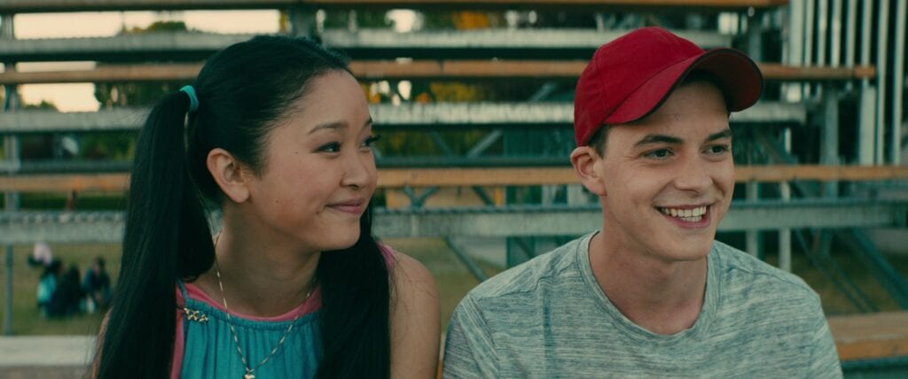 "To All the Boys I've Loved Before, a recent ""chick flick"""
