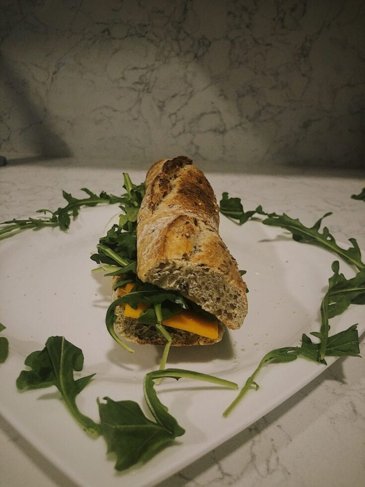 Breakfast Sandwich Baguette