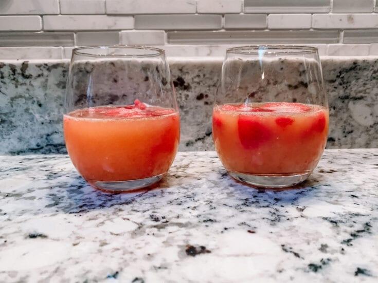 Cranberry-Orange Champagne Cocktail