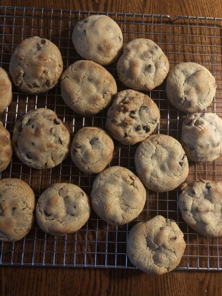 Levain Bakery Chocolate Chip Crush Cookies