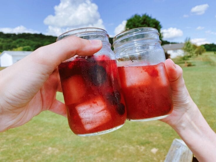 Berry Lemonade Cocktail