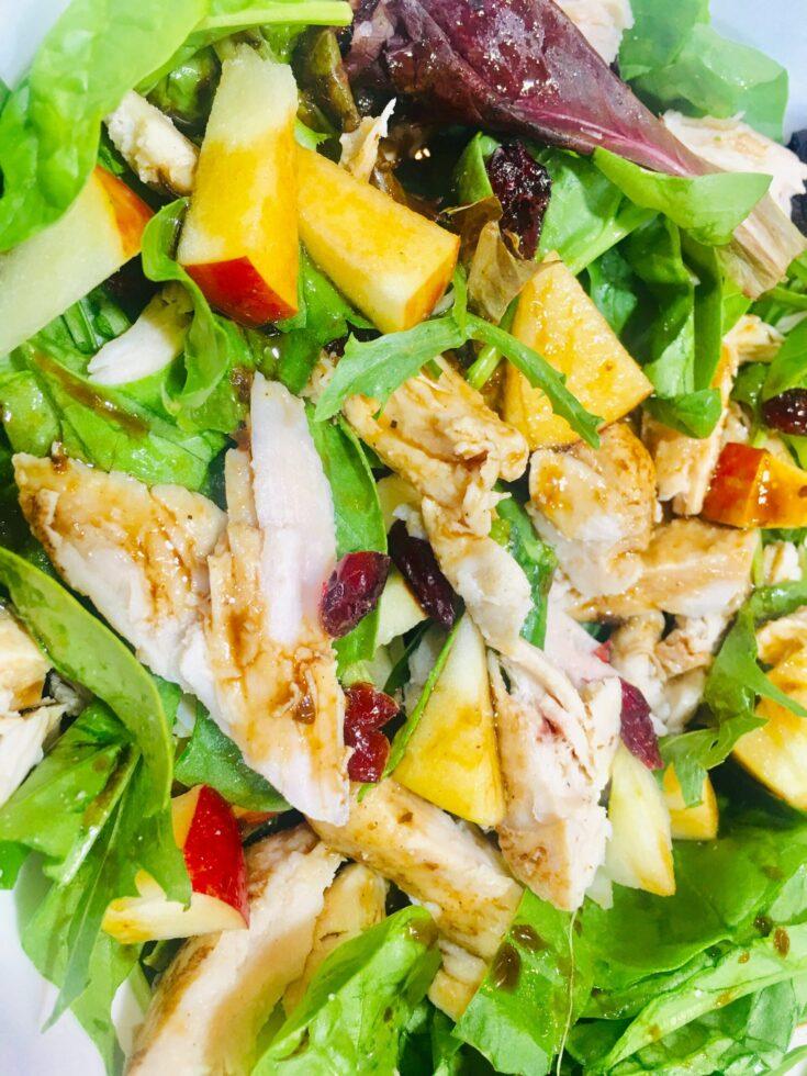 Cranberry Apple Chicken Salad