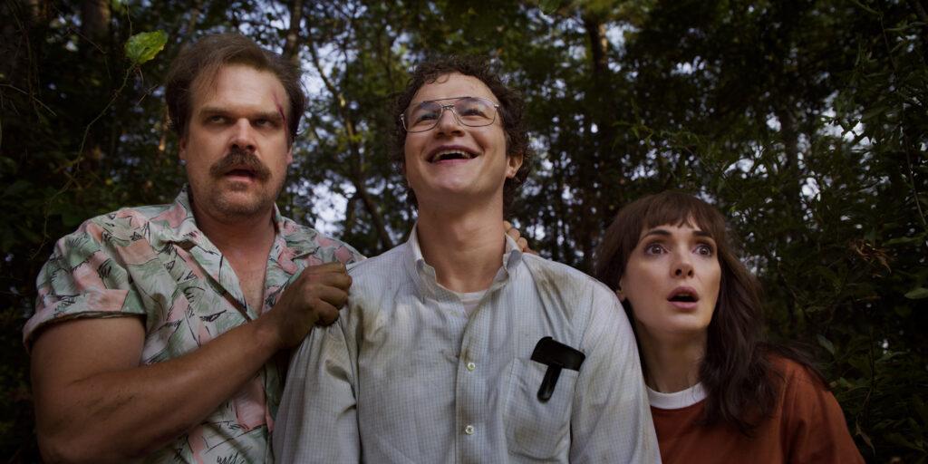 Hopper, Alexei, Joyce Byers