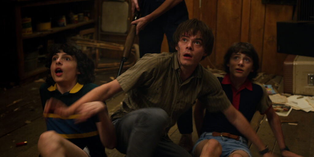 Mike Wheeler, Jonathan and Will Byers