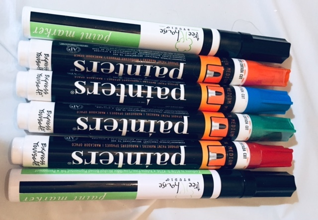 paint markets in six colors