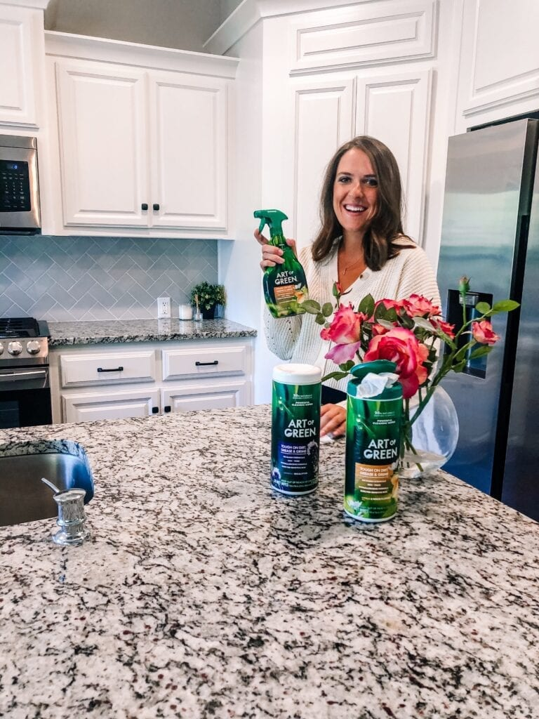 Sarah Ruhlman of Sarah Scoop with Art of Green Cleaning Products