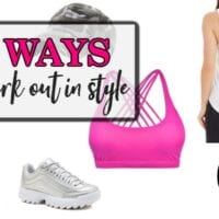 workout clothes style