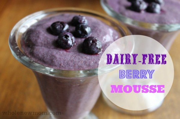 Dairy-Free Berry Mousse