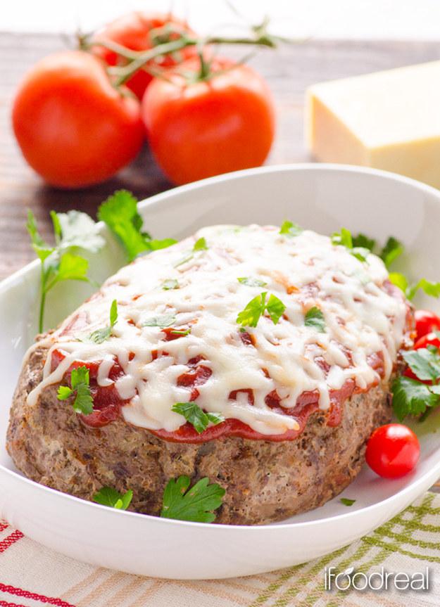 Italian Zucchini Meatloaf