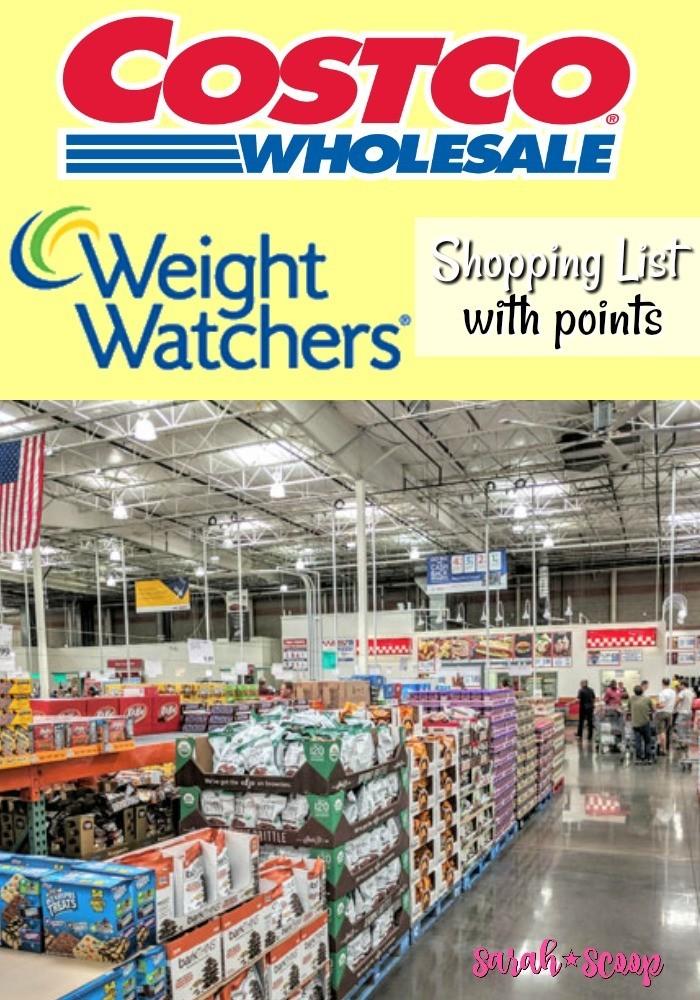Weight Watchers Costco shopping guide