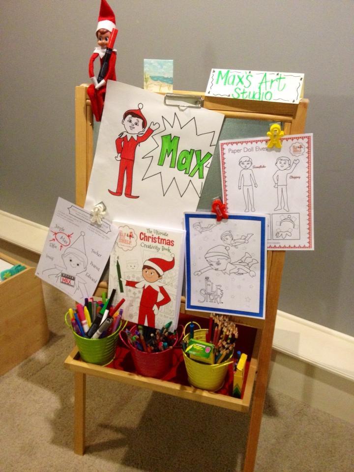 elves on the shelf ideas
