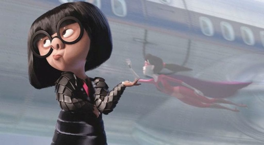 Disney best friend Edna Mode from The Incredibles