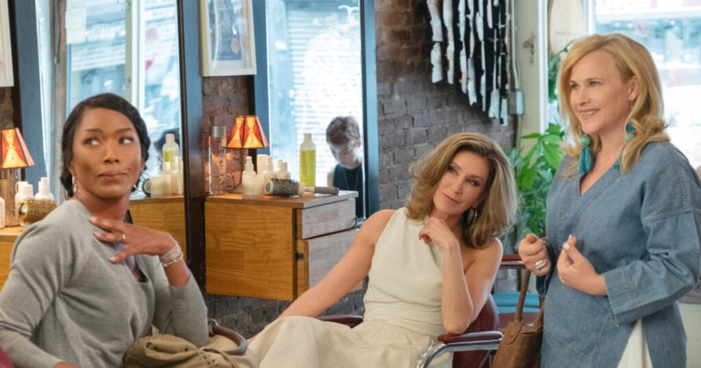 Angela Bassett, Felicity Huffman, and Patricia Arquette in Otherhood