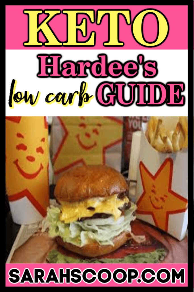 keto diet and hardees