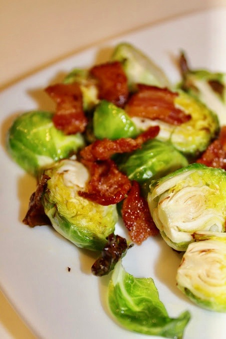 "Alt="" Air Fryer Bacon Bussel Sprouts"""