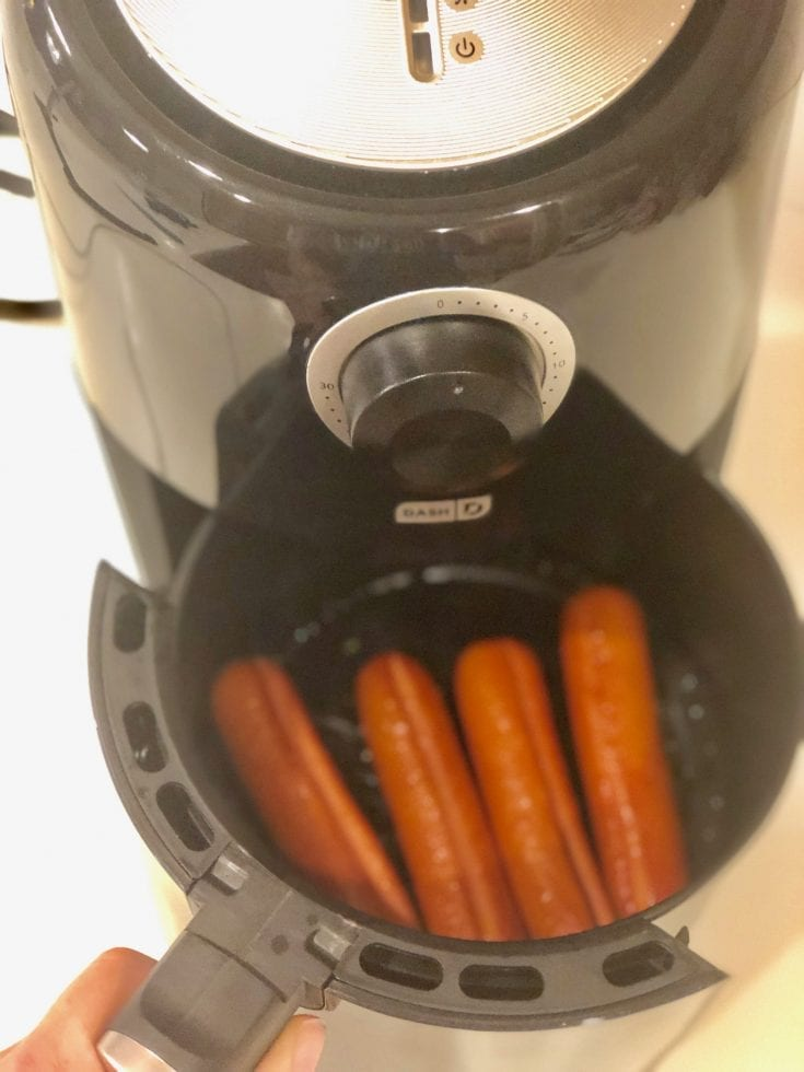 How To Air Fry Hot Dogs