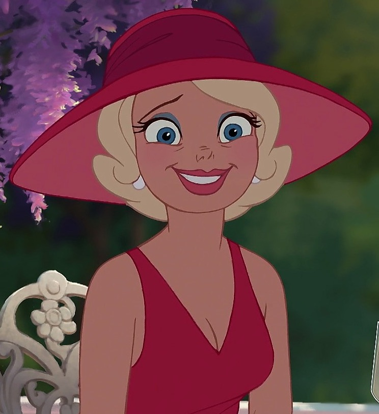 """Best friend Charlotte """"Lottie"""" La Bouff from The Princess and the Frog"""
