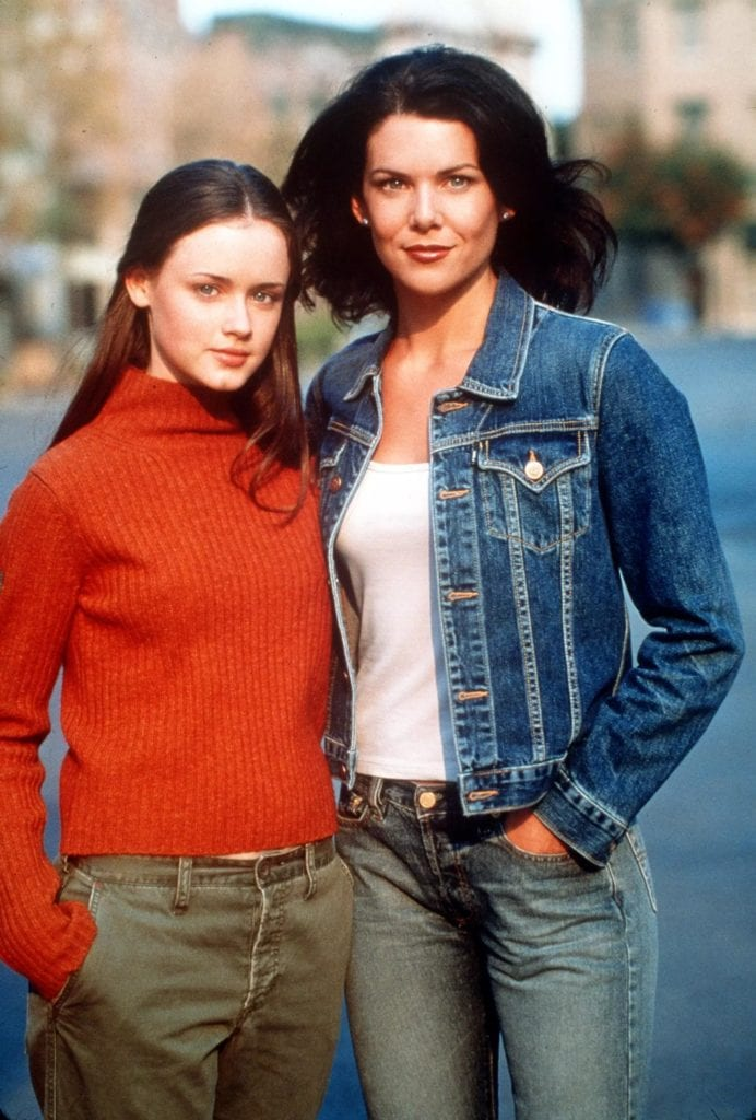 Lorelei and Rory from Gilmore Girls