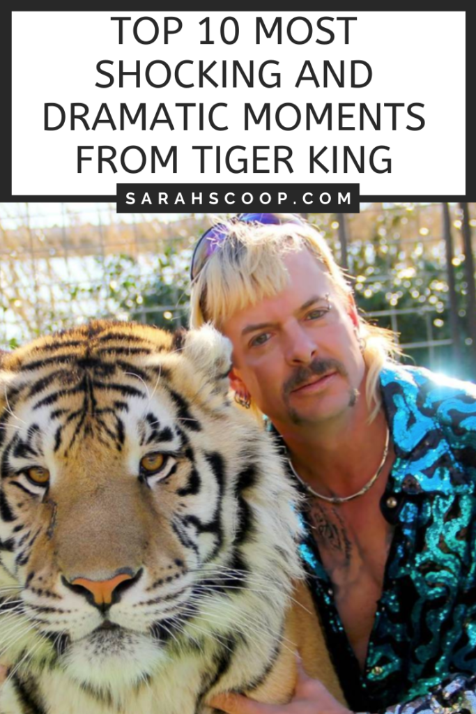 Pinterest image Top 10 Most Shocking and Dramatic Moments From Tiger King
