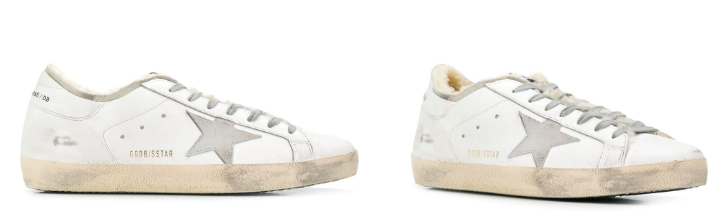 Golden Goose fashion forward sneakers